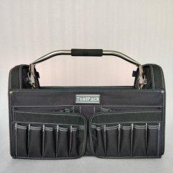 Durable Mochila bolsa de herramientas Herramienta fondo duro Mochila, bolsa de herramientas de gran capacidad, mayor capacidad de promoción Bag Kit de herramienta de gran capacidad de fabricación China