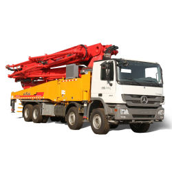 China Hb52K Trouk diesel de 52 m de la bomba de concreto montada en camión