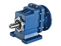シャフトによって取付けられる速度減力剤の変速機伝達小さいエンジン伝達マイクロ螺旋形のギヤボックスモーター可変的な速度ギヤモーター減速装置ボックス