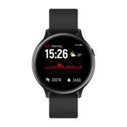 인기 있는 Kw08 심박수 모니터 혈압 방수 BT 전화 스마트 Bluetooth 시계 전화로 문의하십시오
