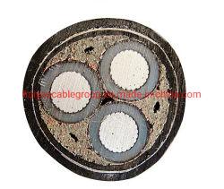 سعر FacTroy XLPE/PVC/Cu/Sta مصفحة عالية الجودة من الألومنيوم الأساسي MV كابل