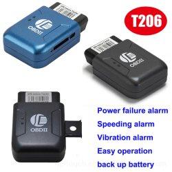 Obdii carte SIM mini GPS du véhicule Tracker périphérique avec alarme de défaillance d'alimentation