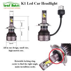 Auto partie Super Bright H4 LED Lampe phare H1 9005 H13 K1 LED projecteur orientable pour voiture