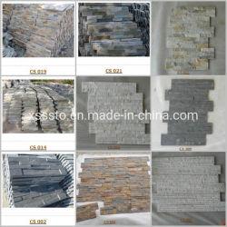 벽 클래딩을%s 각종 슬레이트 및 Quartize 돌 베니어/경작된 돌