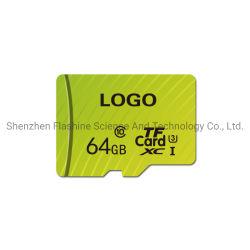 Nouveau logo de la soie de couleur imprimé votre carte mémoire de vente à chaud la carte de TF en provenance de Chine