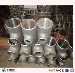 T dell'acciaio legato dell'acciaio inossidabile del acciaio al carbonio degli accessori per tubi della saldatura testa a testa