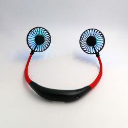 2020 Nuevos elementos colgando del cuello Mini USB recargable, ventilador de deportes al aire libre