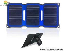 14,5 Вт постоянного тока с двумя выходами Sunpower USB на базе процессора Cell солнечного зарядного устройства (FSS-14.5)