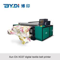 Gran formato en directo a la máquina de impresión de prendas de vestir con i3200 de Epson de tinta reactiva el cabezal de impresión de un color perfecto