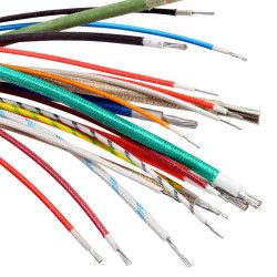 Сертификат UL 3122 Гибкая оплетка из стекловолокна силиконового каучука электрический провод высокотемпературный провод внутренний провод