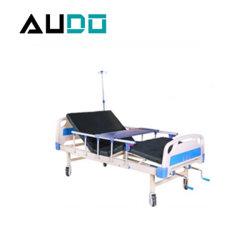 Il letto di ospedale manuale storto dell'ABS due della mobilia Dp-A209 dell'ospedale ottiene l'ultimo prezzo