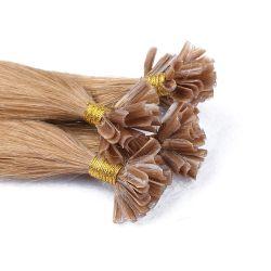 Das beste verkaufenrohe unverarbeitete ausgerichtete Häutchen des Grad-9A gerade U-Spitzen Haar Extenison