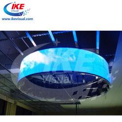 P5 P6 P7 شاشة LED منحنيات شاشة ثابتة حائط فيديو تباين زاوية واسعة للإيجار مرتفع