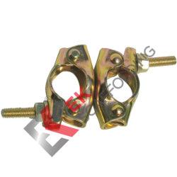 Sujetador de andamios Montaje de la abrazadera giratoria pulsa JIS Andamios acoplador para la construcción