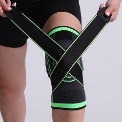 Профессиональных спортивных защитного кожуха колена колодки дышащий порванный жгут колено стяжку поддержки