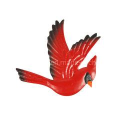 De Hand van het metaal - de gemaakte Kunst van de Muur van de Vogel voor het Decor van de Muur van de Eetkamer van het Terras van de Tuin van het Huis