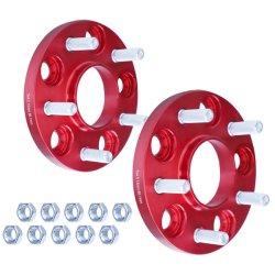 Авто детали 15мм 5 выступ обода алюминий Hubcentric проставка колес