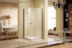 접히는 샤워 울안 또는 문 또는 오두막 또는 스크린 승인되는 이중 문 세륨 Upc