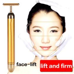 Visage masseur Rajeunissement de la peau La peau du serrage, type de fonctionnalité et d'autres or 24k Beauty Bar