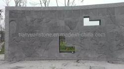 De grijze Gesneden Hulp van de Steen van het Zandsteen Natuurlijke Standbeelden