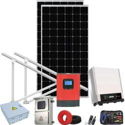 150kwドイツの青いフィルムのソーラーコレクタ力のエネルギー・システムへの熱い6kw