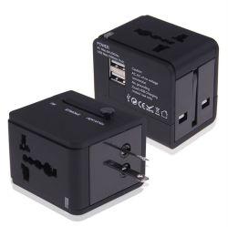 USBのユニバーサル交流電力のプラグの世界旅行ユニバーサルアダプターのコンバーターイギリスEU私達
