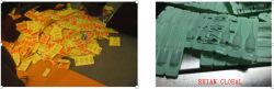 Plastikampulle, die füllende Dichtungs-Maschine für Augen-Absinken bildet