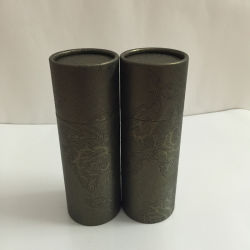 Design personalizado caixas redondas Embalagem embalagem da caixa do tubo de PVC para creme para as mãos