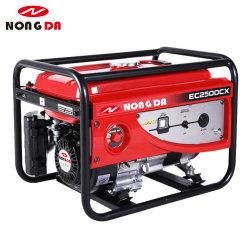 De Generator van de Benzine 2500W Gx160 5.5HP van de Motor Ec2500cx van Honda