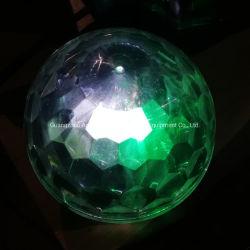 6pzas 1W OVNI luces LED de iluminación de parte de bola mágica de cristal