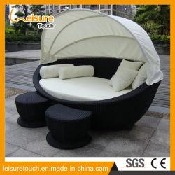 Sillas de playa Jardín al aire libre Piscina de mimbre muebles de ratán Tumbona Hamaca recostada cama salón