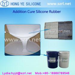 Os moldes de carimbos de pedra de concreto tornando RTV-2 de borracha de silicone de moldagem