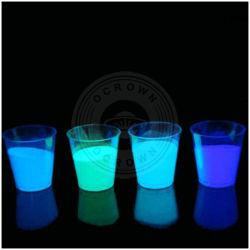 El polvo de fósforo polvo fluorescente brilla en la oscuridad de pigmentos luminosos