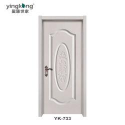 Der Starrheit-WPC Pfosten-Tür Yk733 Tür-Fenster-im Freien der Rahmen-WPC