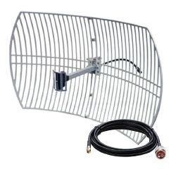 24dBi WiFi WLAN Wireless Outdoor Long Range Grid Directional Antenna