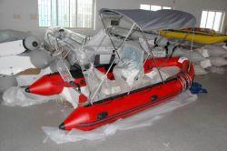 Opblaasbare Boot Rib480 van de Boot van de Vissersboot de Stijve