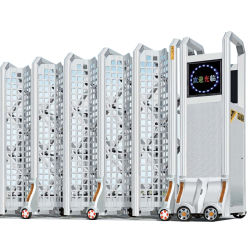 Prix entrée Design pliable électrique de porte escamotable Rgl-37 automatique