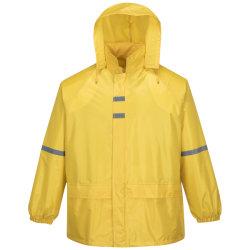 vestiti di base della pioggia del rivestimento del PVC del poliestere personalizzati 210t di 170t 190t