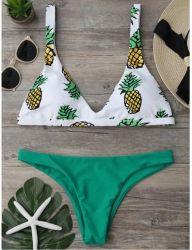 Verband-reizvolle Bikini-Frauen-brasilianisches Bikini-Set