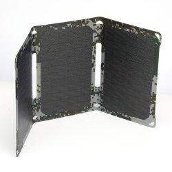 18W солнечной портативный USB с питанием от батареи мобильного телефона банк складной панели зарядного устройства портативный источник питания