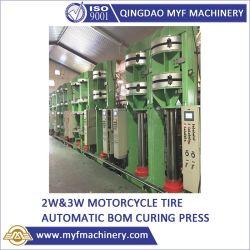 ضغط الإطارات الكنافية الهيدروليكية BOM لإطارات الدراجات البخارية