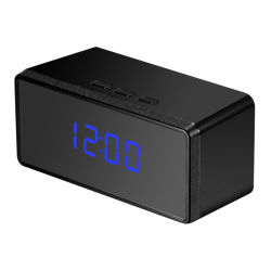 HD 1080p 숨겨진 알람 시계 IR 야간 보안 카메라 미니 DVR 동작 감지 DV