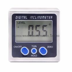 A alta precisão de inclinações digital com Base Magnética Nível Digital Box (WW-DI5415)