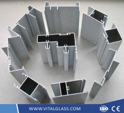 Revêtement en poudre/l'anodisation/électrophorétique en alliage/rupture thermique/Wood-Grain/industriel/Aluminium/Aluminium extrudé Profil d'Extrusion pour rendre les portes et fenêtres