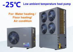 Basse température ambiante chauffe-eau pompe à chaleur atmosphérique Unité pour l'eau chaude et l'air de chauffage ou refroidissement