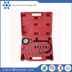 Проверка давления моторного масла 19PC тестер измеритель давления в цилиндре дизельного погрузчика манометр