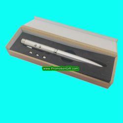 Caixa de madeira 3 em 1 Luz de LED Caneta Ponteiro Laser