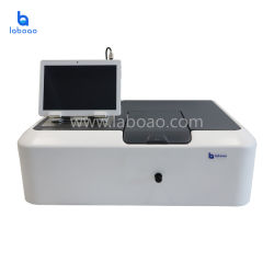実験室の医学の分析装置のテーブルトップの紫外線気力の目に見える分光光度計の価格