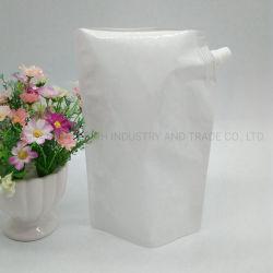薄板にされたボディバタープラスチックパッケージ袋は液体の口の袋を立てる