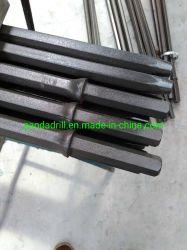 H22 conische stalen ronde stangen met schacht voor steengroeven en water Boren van putten
